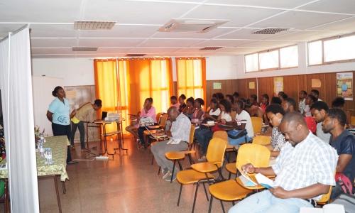 CNE realiza palestra na Escola de Formação dos Professores da Praia