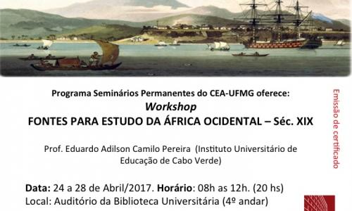 Workshop: Fontes Para Estudo da África Ocidental - Séc. XIX