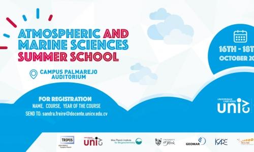 Escola de Verão de Ciências Atmosféricas e Marinhas acontece na Uni-CV