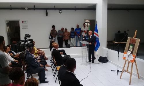 Inauguração do Centro Camões na Faculdade de Educação e Desporto da Uni-CV
