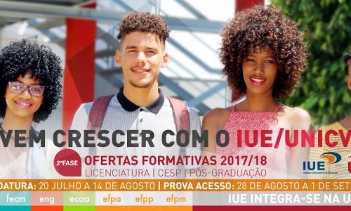 Provas de Ingresso IUE - 2017/18